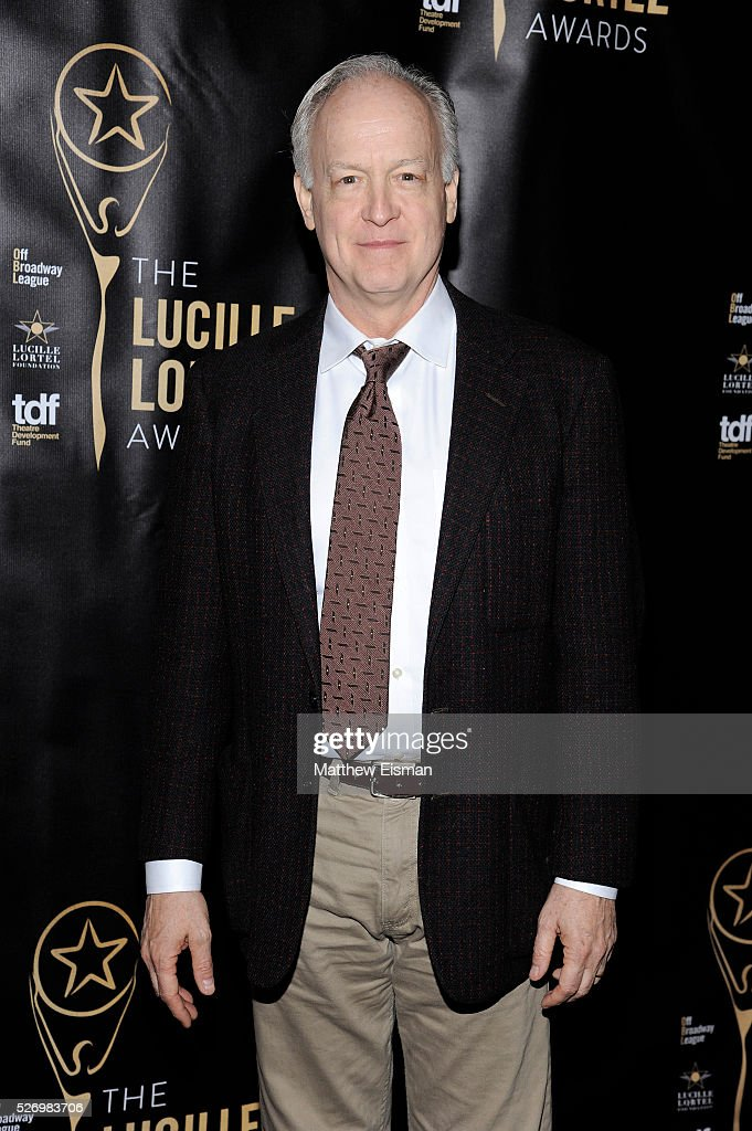 Actor Reed Birney arrives at the 31st Annual Lucille Lortel Awards at NYU Skirball Center on May 1, 2016 in New York City.
