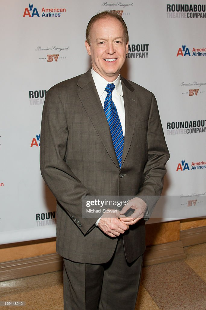 Actor Reed Birney attends 'Picnic' Broadway Opening Night at American Airlines Theatre on January 13, 2013 in New York City.