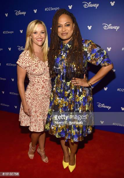Actor Reese Witherspoon and director Ava DuVernay of A WRINKLE IN TIME took part today in the Walt Disney Studios live action presentation at...