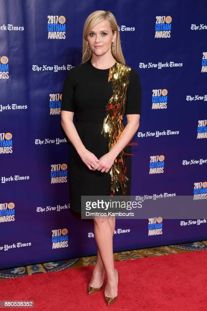 Actor Reese Witherspoon attends IFP's 27th Annual Gotham Independent Film Awards on November 27 2017 in New York City