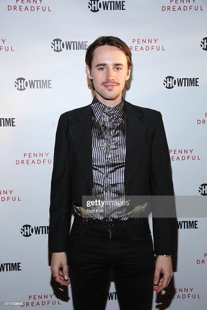 Actor Reeve Carney attends 'Penny Dreadful' Screening And QA With Reeve Carney at Tribeca Cinemas on April 30 2015 in New York City