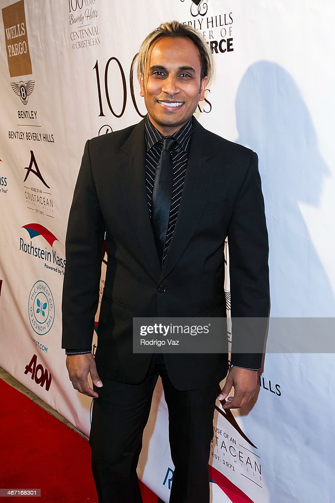Actor Reggie Benjamin attends the Beverly Hills Chamber of Commerce hosting