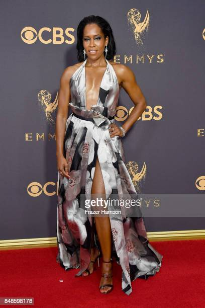 Actor Regina King attends the 69th Annual Primetime Emmy Awards at Microsoft Theater on September 17 2017 in Los Angeles California