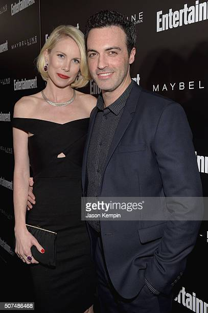 Actor Reid Scott and Elspeth Keller attend Entertainment Weekly Celebration Honoring The Screen Actors Guild Awards Nominees presented by Maybelline...