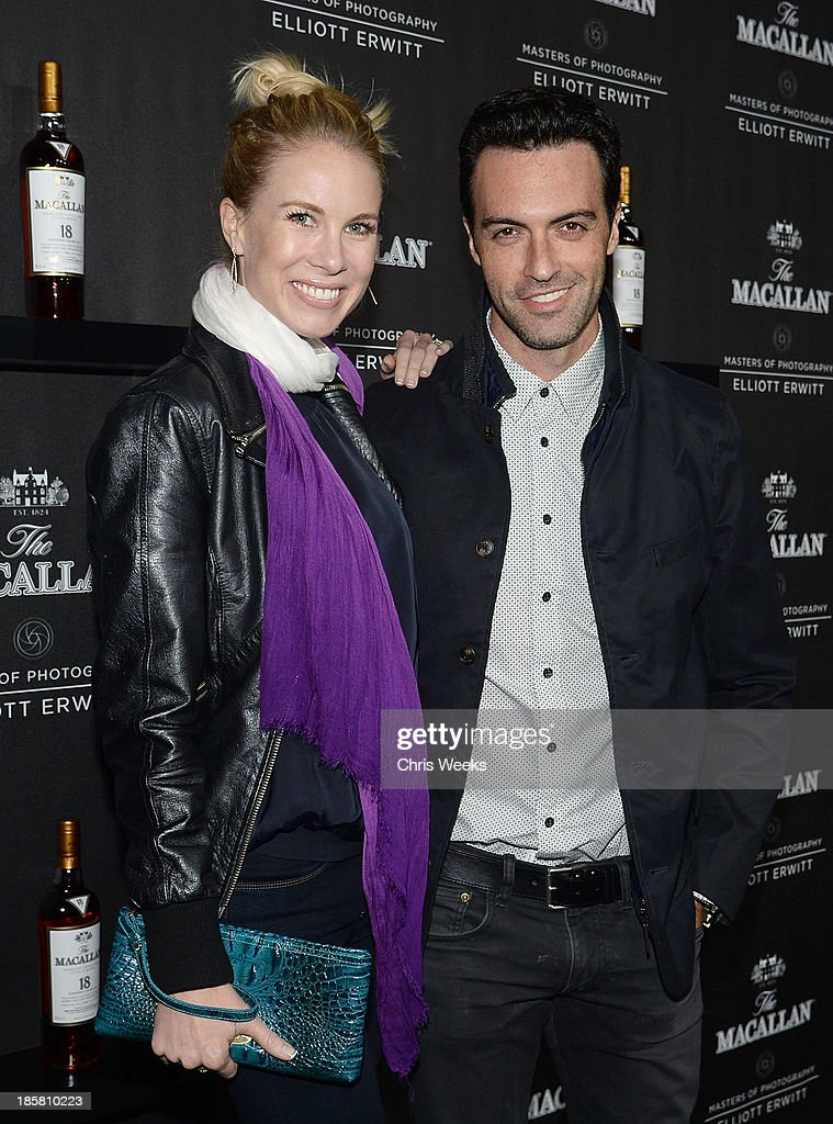 Actor Reid Scott arrives at The Macallan Masters of Photography: Elliott Erwitt at Leica Gallery Los Angeles on October 24, 2013 in Los Angeles, California.