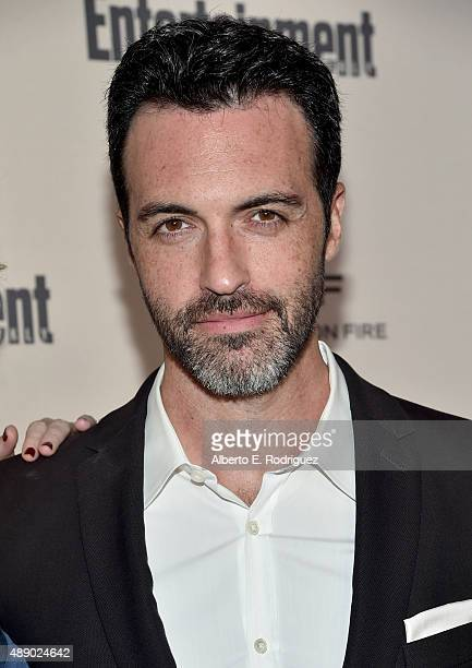 Actor Reid Scott attends the 2015 Entertainment Weekly PreEmmy Party at Fig Olive Melrose Place on September 18 2015 in West Hollywood California