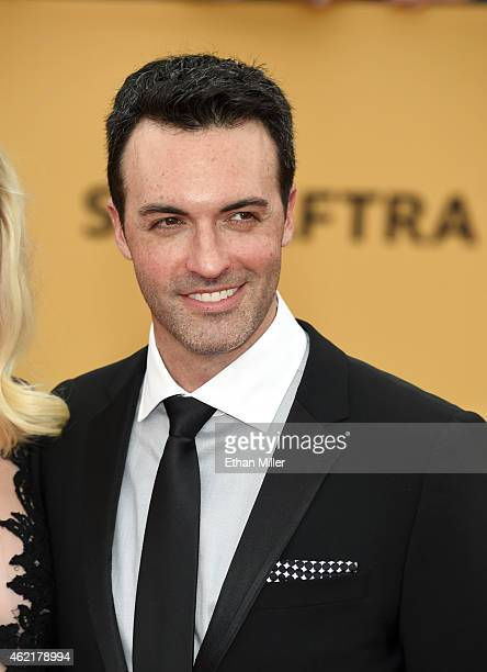 Actor Reid Scott attends the 21st Annual Screen Actors Guild Awards at The Shrine Auditorium on January 25 2015 in Los Angeles California