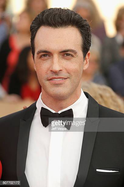 Actor Reid Scott attends the 22nd Annual Screen Actors Guild Awards at The Shrine Auditorium on January 30 2016 in Los Angeles California