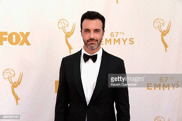 Actor Reid Scott attends the 67th Annual Primetime Emmy Awards at Microsoft Theater on September 20 2015 in Los Angeles California
