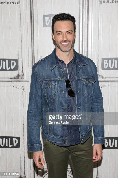 Actor Reid Scott attends the Build Series at Build Studio on April 10 2017 in New York City