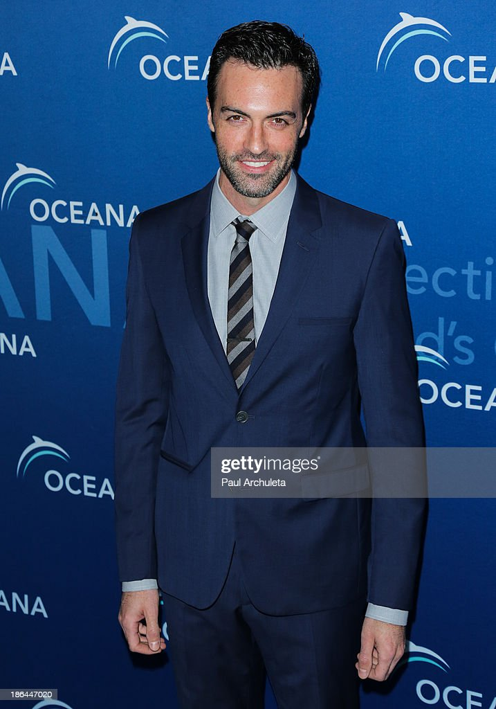 Actor Reid Scott attends the Oceana Partners Award Gala at the Regent Beverly Wilshire Hotel on October 30, 2013 in Beverly Hills, California.