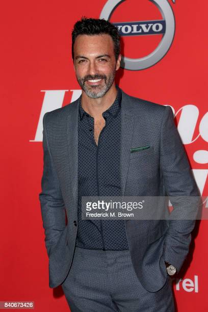 Actor Reid Scott attends the premiere of Open Road Films' 'Home Again' at the Directors Guild of America on August 29 2017 in Los Angeles California