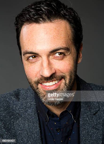 Actor Reid Scott is photographed at the Tribeca Film Festival on April 25 2014 in New York City
