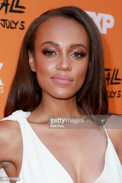 Actor Reign Edwards attends the premiere of FX's 'Snowfall' at The Theatre at Ace Hotel on June 26 2017 in Los Angeles California