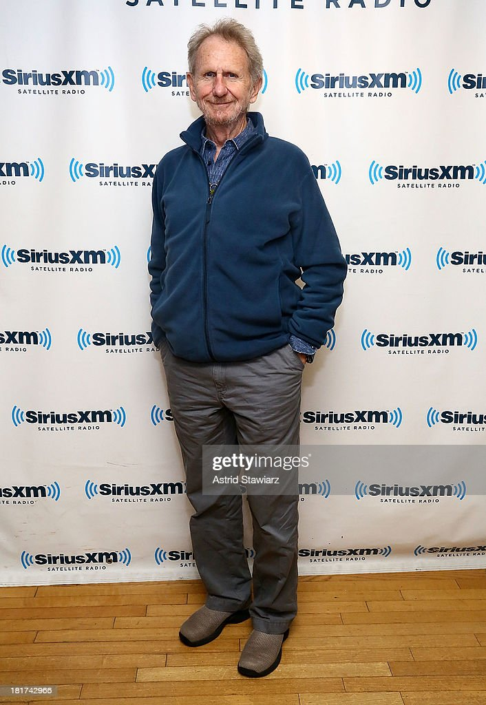 Actor Rene Auberjonois who provided the voice of Louis, the chef in Walt Disney's 1989 animated movie 'The Little Mermaid', visits the SiriusXM Studios on September 24, 2013 in New York City.