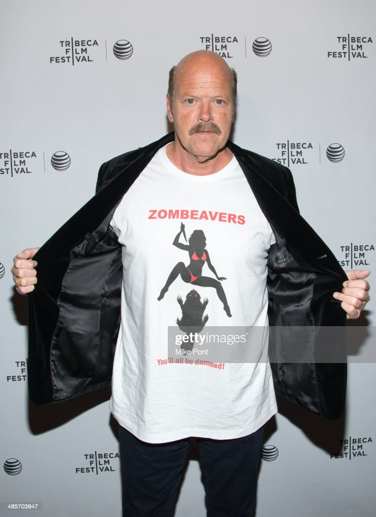 Actor <a gi-track='captionPersonalityLinkClicked' href=/galleries/search?phrase=Rex+Linn&family=editorial&specificpeople=585724 ng-click='$event.stopPropagation()'>Rex Linn</a> attends the premiere of 'Zombeavers' during the 2014 Tribeca Film Festival at Chelsea Bow Tie Cinemas on April 19, 2014 in New York City.