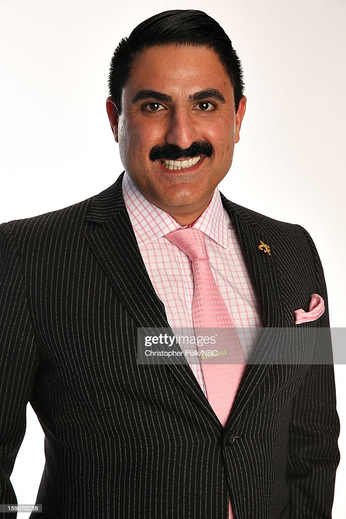 Actor Reza Farahan attends the NBCUniversal 2013 TCA Winter Press Tour at The Langham Huntington Hotel and Spa on January 6, 2013 in Pasadena, California.