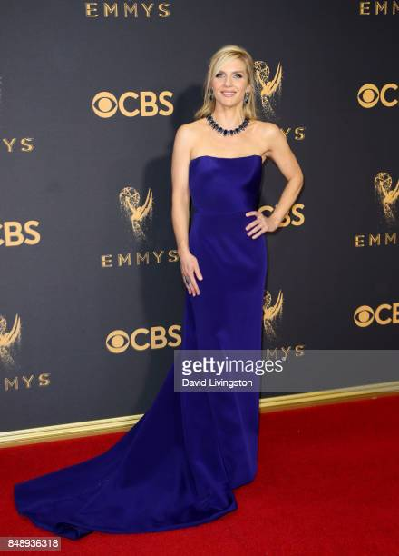 Actor Rhea Seehorn attends the 69th Annual Primetime Emmy Awards Arrivals at Microsoft Theater on September 17 2017 in Los Angeles California