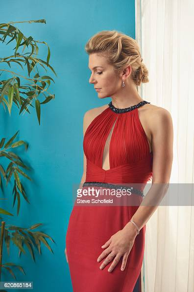 Actor Rhea Seehorn is photographed for Emmy magazine on September 18 2016 in Los Angeles California