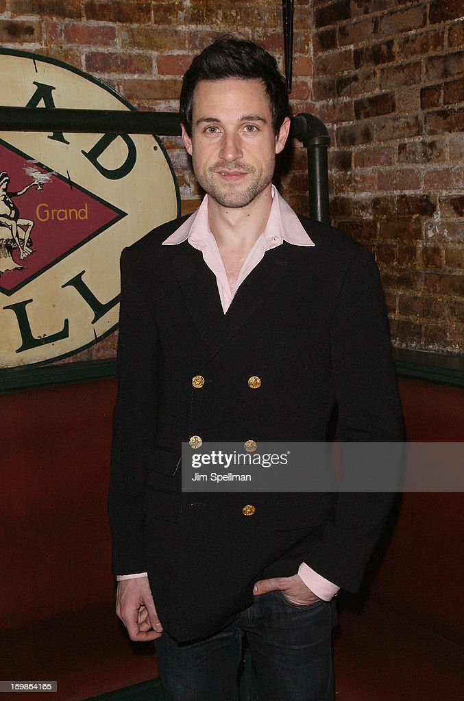 Actor Rhett Owen attends the after party for the opening night of 'The Future Is Not What It Was' at Toad Hall on January 21, 2013 in New York City.