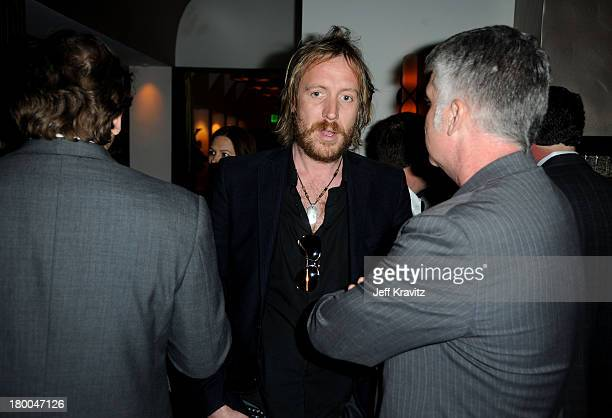 Actor Rhys Ifans and Focus Features' John Lyons attend the after party for the premiere of Greenberg presented by Focus Features at La Vida on March...