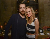 Actor Rhys Thomas and TV personality Catt Sadler attend Sarah Boyd x CapwellCo Collaboration Launch Dinner at Chateau Marmont on January 28 2014 in...