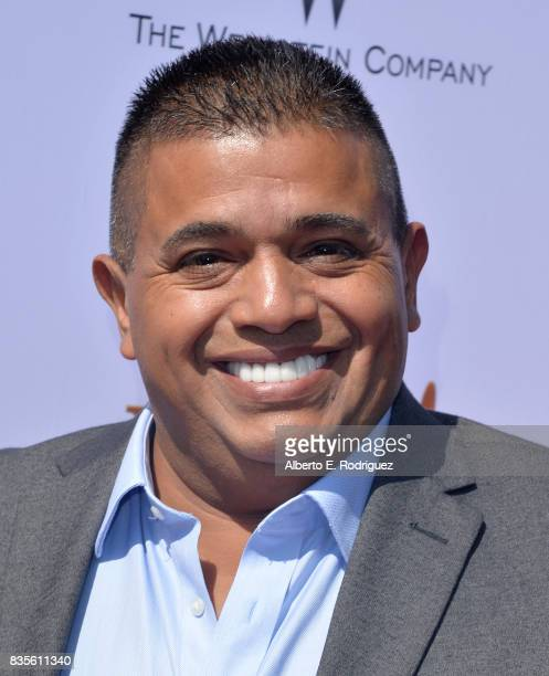 Actor Ricardo 'El Mandrill' Sanchez attends the premiere of The Weinstein Company's 'Leap' at the Pacific Theatres at The Grove on August 19 2017 in...