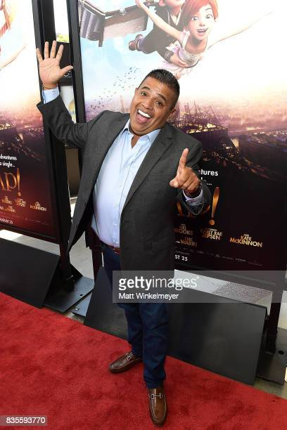 Actor Ricardo 'El Mandrill' Sanchez attends the Weinstein Company's 'LEAP' at The Grove on August 19 2017 in Los Angeles California