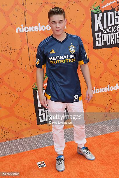 Actor Ricardo Hurtado arrives at the Nickelodeon Kids' Choice Sports Awards 2016 at the UCLA's Pauley Pavilion on July 14 2016 in Westwood California