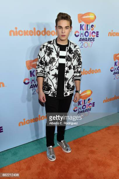 Actor Ricardo Hurtado at Nickelodeon's 2017 Kids' Choice Awards at USC Galen Center on March 11 2017 in Los Angeles California