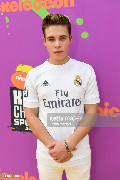 Actor Ricardo Hurtado attends Nickelodeon Kids' Choice Sports Awards 2017 at Pauley Pavilion on July 13 2017 in Los Angeles California
