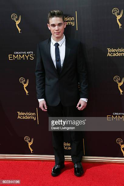 Actor Ricardo Hurtado attends the 2016 Creative Arts Emmy Awards Day 1 at the Microsoft Theater on September 10 2016 in Los Angeles California
