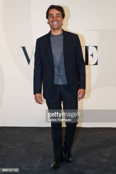 Actor Ricardo Pereira attends the Vogue Portugal Party Photocall on October 5 2017 in Lisbon Portugal