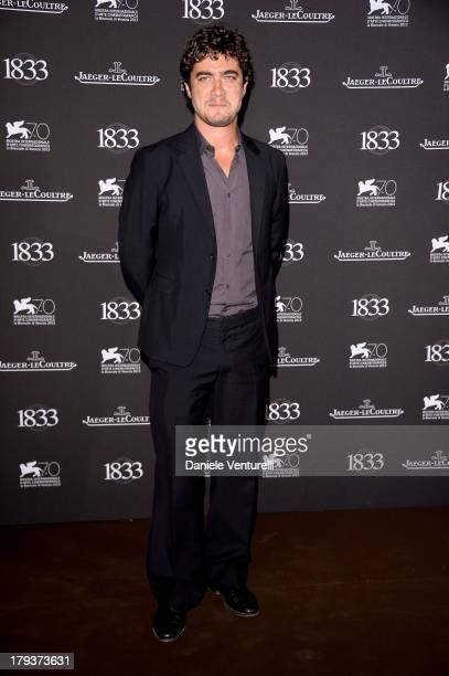 Actor Riccardo Scamarcio attends JaegerLeCoultre Gala Dinner Celebrating Its 180th Anniversary At Teatro La Fenice In Venice on September 2 2013 in...