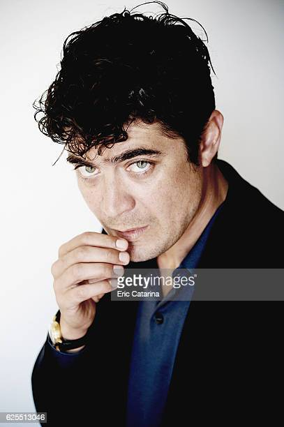 Actor Riccardo Scamarcio is photographed for Self Assignment on May 15 2015 in Cannes France