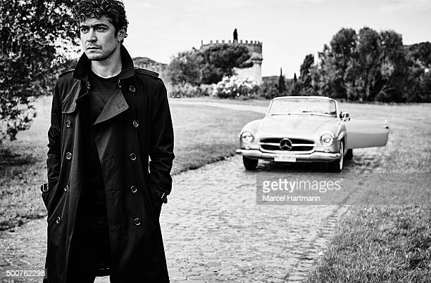 Actor Riccardo Scamarcio is photographed for Vanity Fair Italy on September 30 2015 in Rome Italy