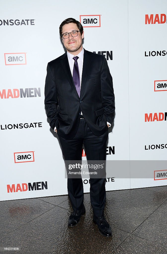 Actor Rich Sommer arrives at AMC's 'Mad Men' Season 6 Premiere at the DGA Theater on March 20, 2013 in Los Angeles, California.