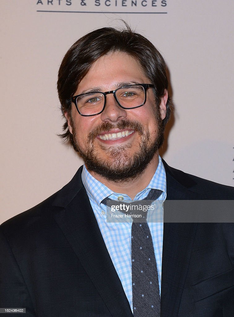 Actor <a gi-track='captionPersonalityLinkClicked' href=/galleries/search?phrase=Rich+Sommer&family=editorial&specificpeople=4406963 ng-click='$event.stopPropagation()'>Rich Sommer</a> arrives at The Academy Of Television Arts & Sciences Writer Nominees' 64th Primetime Emmy Awards Reception at Academy of Television Arts & Sciences on September 20, 2012 in North Hollywood, California.