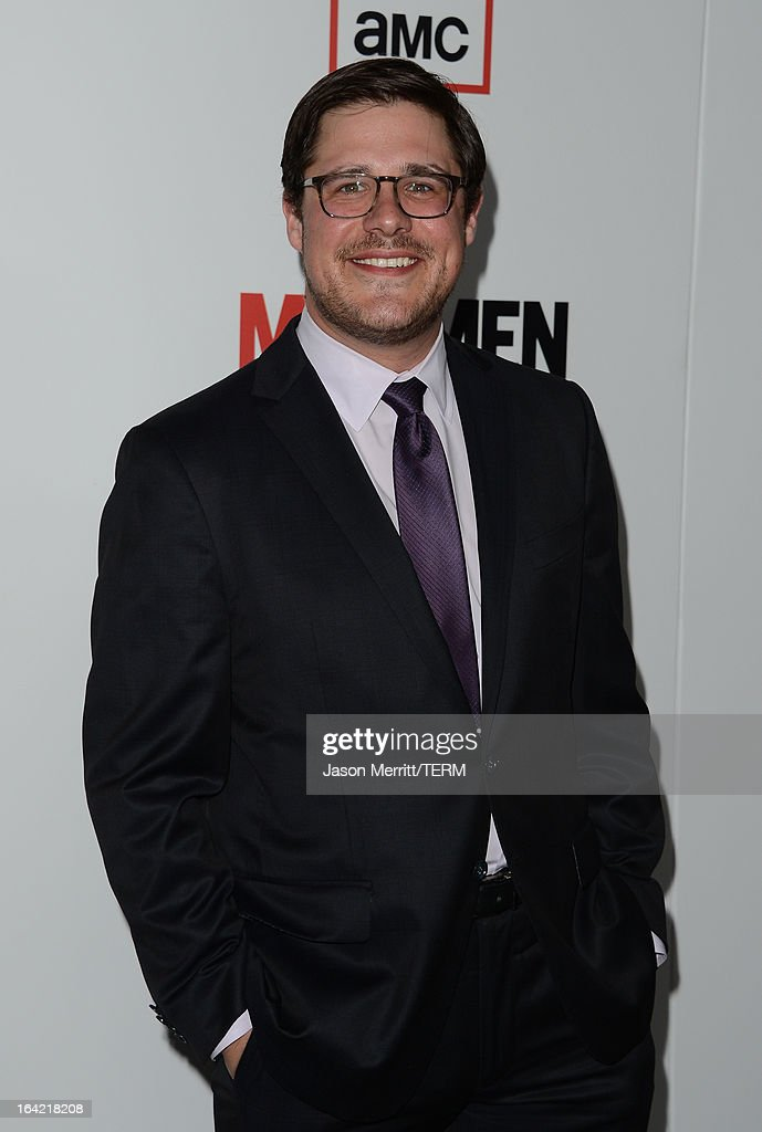 Actor Rich Sommer arrives at the Premiere of AMC's 'Mad Men' Season 6 at DGA Theater on March 20, 2013 in Los Angeles, California.