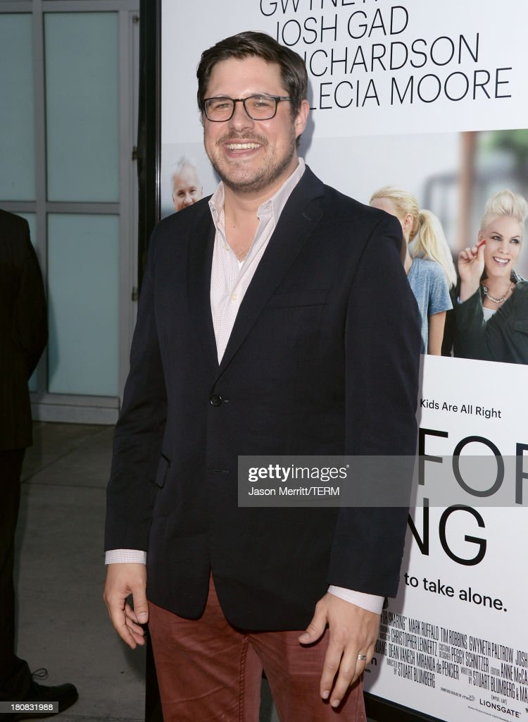 Actor <a gi-track='captionPersonalityLinkClicked' href=/galleries/search?phrase=Rich+Sommer&family=editorial&specificpeople=4406963 ng-click='$event.stopPropagation()'>Rich Sommer</a> attends the premiere of Roadside Attractions' 'Thanks For Sharing' at ArcLight Cinemas on September 16, 2013 in Hollywood, California.