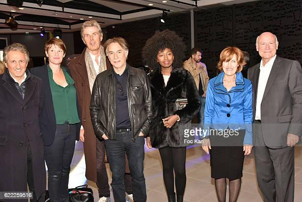 Actor Richard Anconina TV journalist Maitena Biraben Dominique Desseigne actor/director Richard Berry singer/actrice Inna Modja La Baule Mayor Yves...