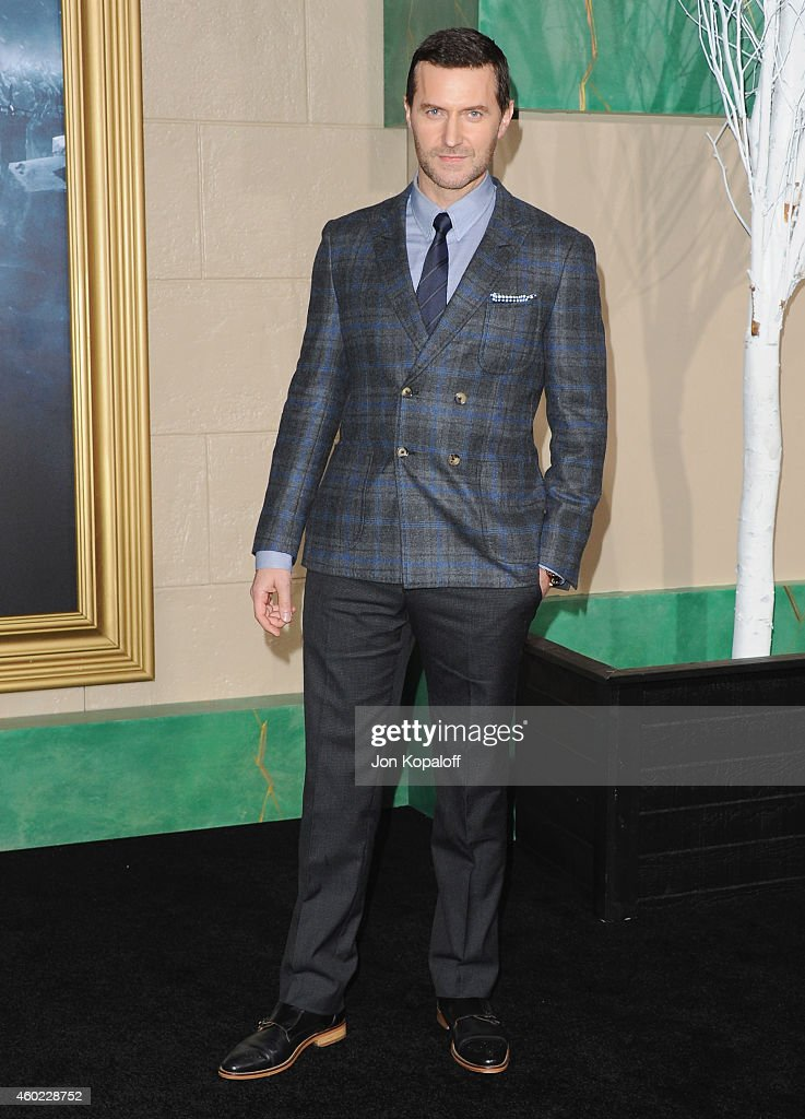 Actor Richard Armitage arrives at the Los Angeles Premiere 'The Hobbit: The Battle Of The Five Armies' at Dolby Theatre on December 9, 2014 in Hollywood, California.