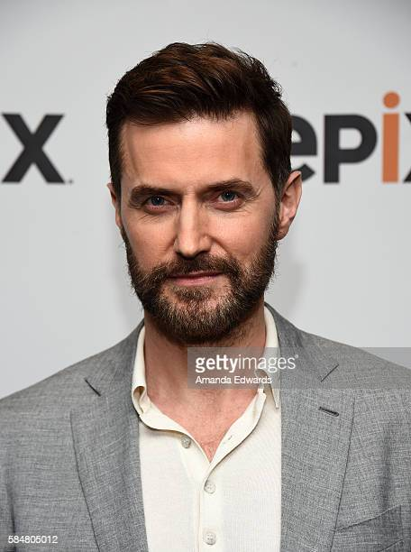 Actor Richard Armitage attends EPIX's Television Critics Association Tour at The Beverly Hilton Hotel on July 30 2016 in Beverly Hills California