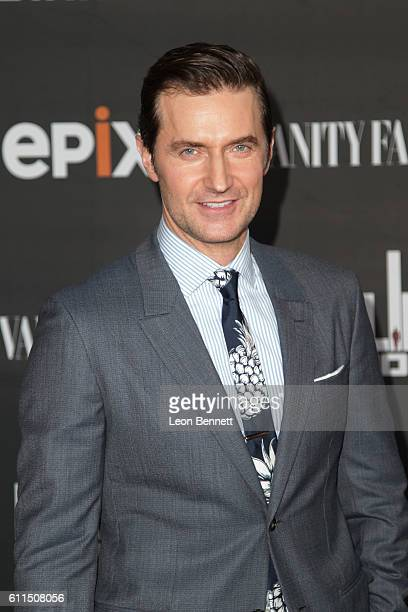 Actor Richard Armitage attends Premiere Of EPIX's 'Berlin Station' at Milk Studios on September 29 2016 in Hollywood California