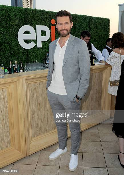 Actor Richard Armitage attends the EPIX TCA presentation at The Beverly Hilton Hotel on July 30 2016 in Beverly Hills California