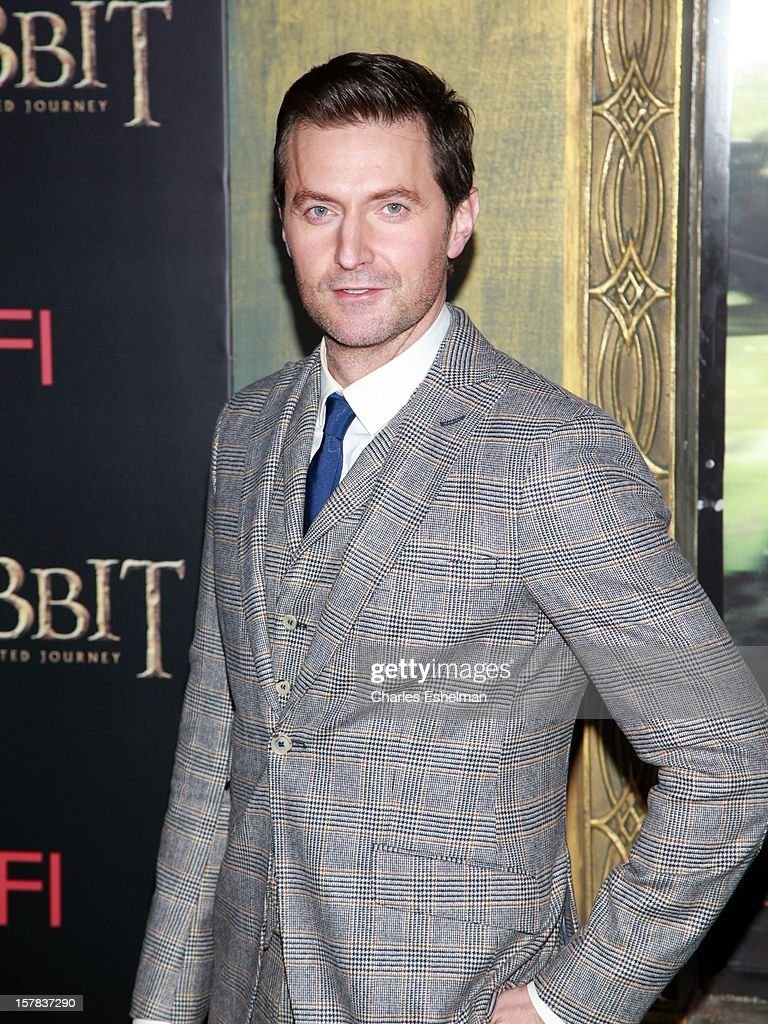 Actor Richard Armitage attends 'The Hobbit: An Unexpected Journey' premiere at the Ziegfeld Theater on December 6, 2012 in New York City.