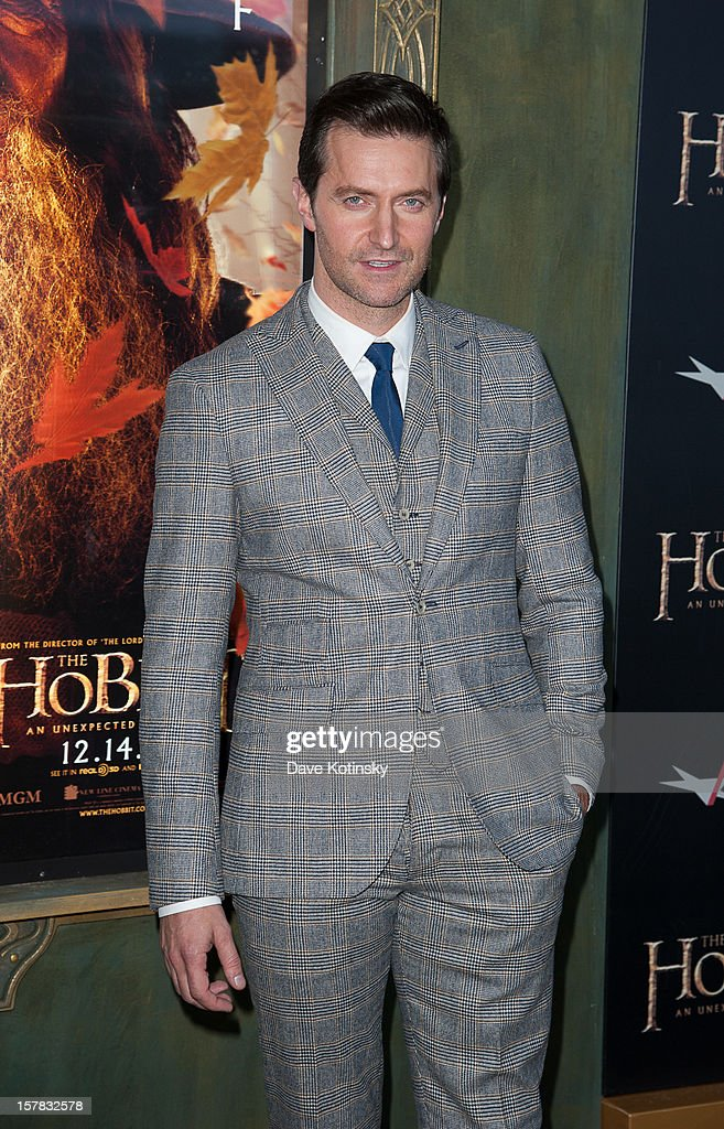 Actor Richard Armitage attends 'The Hobbit: An Unexpected Journey' New York premiere benefiting AFI at Ziegfeld Theater on December 6, 2012 in New York City.