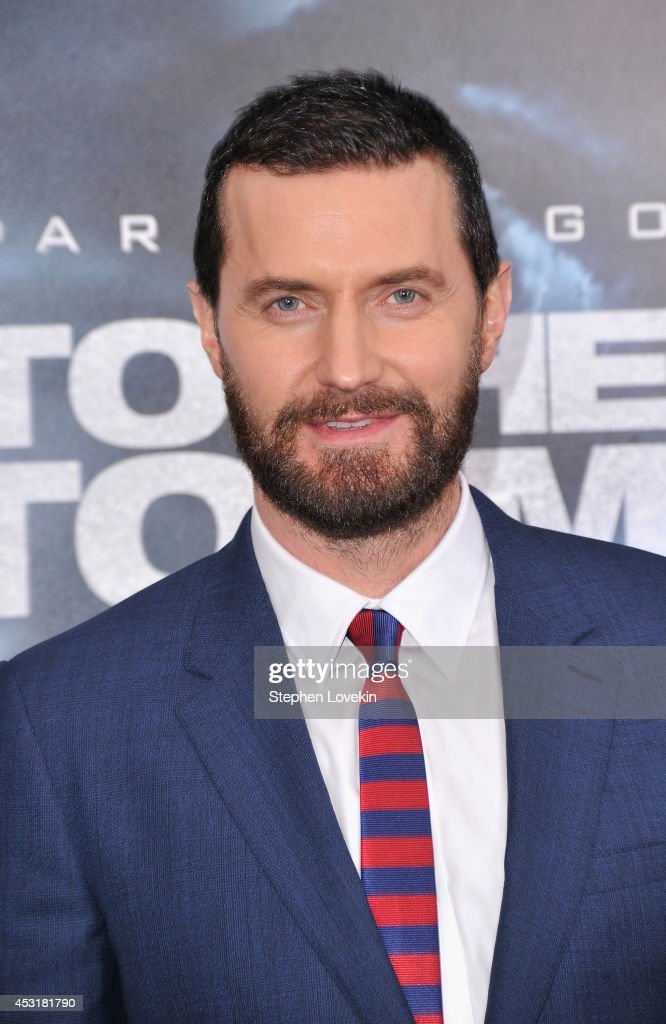 Actor Richard Armitage attends the 'Into The Storm' premiere at AMC Lincoln Square Theater on August 4, 2014 in New York City.