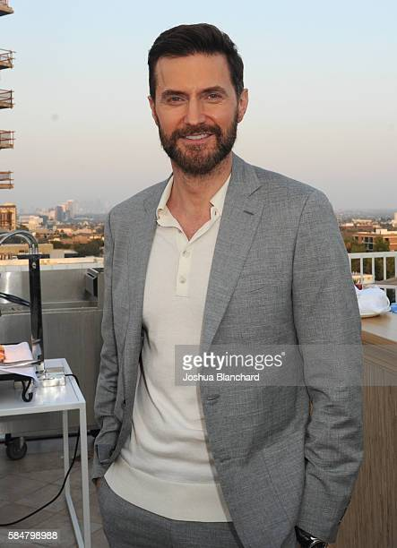 Actor Richard Armitage of 'Berlin Station' attends the EPIX TCA presentation at The Beverly Hilton Hotel on July 30 2016 in Beverly Hills California