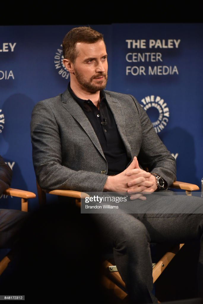 Actor Richard Armitage speaks on a panel during The Paley Center For Media's 11th Annual PaleyFest Fall TV Previews for EPIX at The Paley Center for Media on September 16, 2017 in Beverly Hills, California.